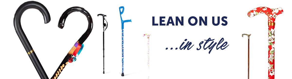 Lean on us